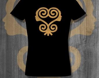 Sankofa African Symbol T shirt tops and tees t-shirts t shirts| Free Shipping
