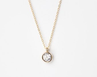 Tiny Twinkle Necklace - Gold or Silver