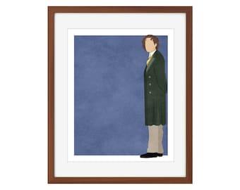 Doctor Who print - the Eighth Doctor/Paul McGann
