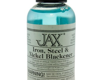 Jax Iron, Steel & Nickel Darkener 2oz Bottle  (PM9008)