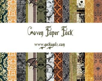 Coven Digital Paper Pack