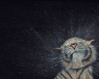 Tiger Cub Limited Edition Print