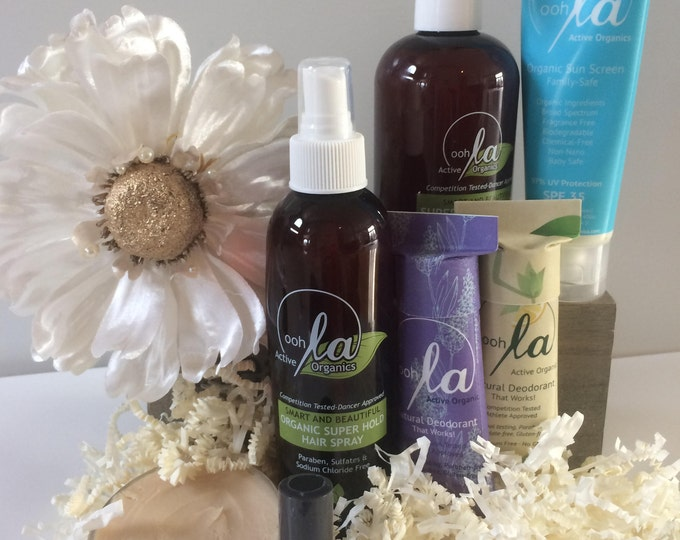 SALE!  Spa Gift Set, Pick 3 Spa Gift , Mini Spa Set, Non Toxic Personal Care, Christmas Gift Set, Receive a Free Natural Lipstick With Set!
