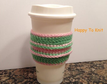 Coffee Cup sleeve -  Coffee Cup to go cozy