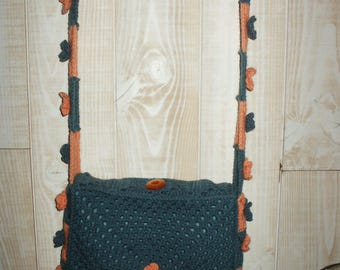 mother's day vintage speciall crochet shoulder bag