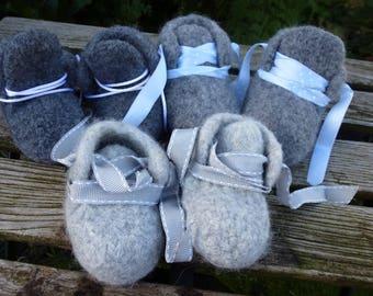 Baby Shoes Dark Grey