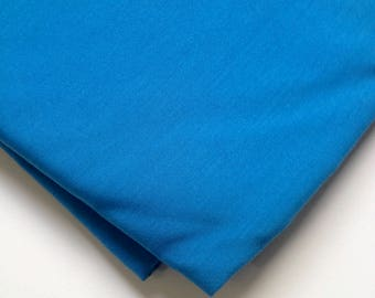 Light blue cotton fabric, natural fabric, summer wear, lightweight fabric, for shirts, dresses and tops, quilting