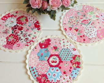 recreate/custom hexie patchwork doily