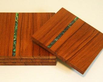 Wood coasters, reclaimed wood drink coasters.