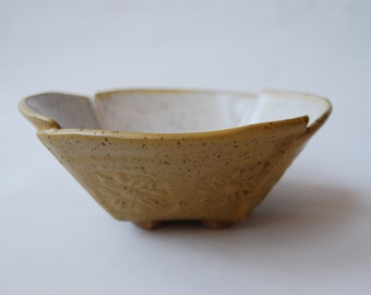 Handmade Pottery Cereal Bowl, Hand Crafted Stoneware Tableware, Rustic Pottery Bowl, Handmade Pottery Bowl, Rustic Pottery Tableware