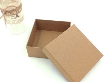 Belt boxes, kraft paper belt boxes 30pcs  135*135*60mm