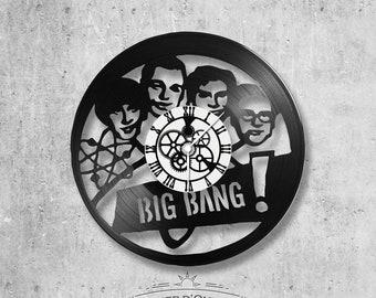 Vinyl 33 clock towers theme Big Bang