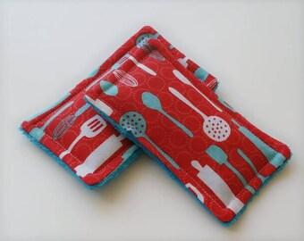 Reusable sponge,unsponges, retro kitchen, dishes, ecofriendly sponge, kitchen sponge, green cleaning
