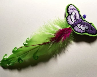 Happy Butterfly Catnip Cat Toy