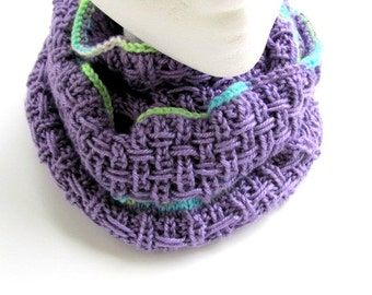 Infinity Cowl in True Lilac FREE US Shipping