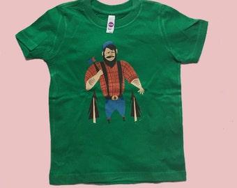 Green Lumberjack Tees