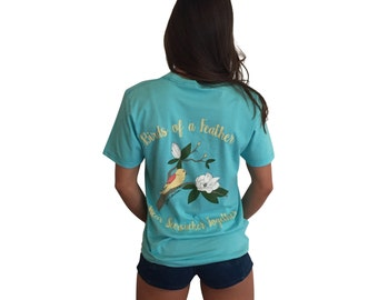 Birds of a Feather Super Soft Southern Short Sleeve Pocket T-Shirt
