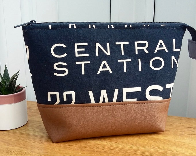 New Yorker Man's Toiletry Bag