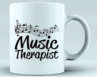 Novelty mugs for music fans and musicians - can be personalised -  Birthday / christmas gift