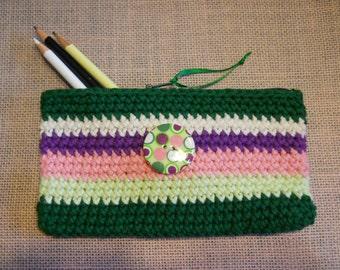 Pencil Case, Teachers Gift, Wallet, Makeup Bag, Organizer Bag, Coupon Holder