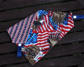 Freedom Rings double sided cotton bandana