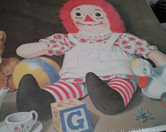 A Little Girl's World (Raggedy Ann) print