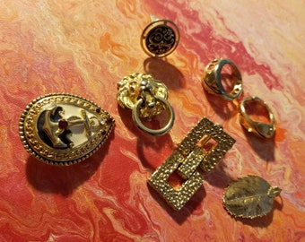 7 gold filled vintage jewelry pieces