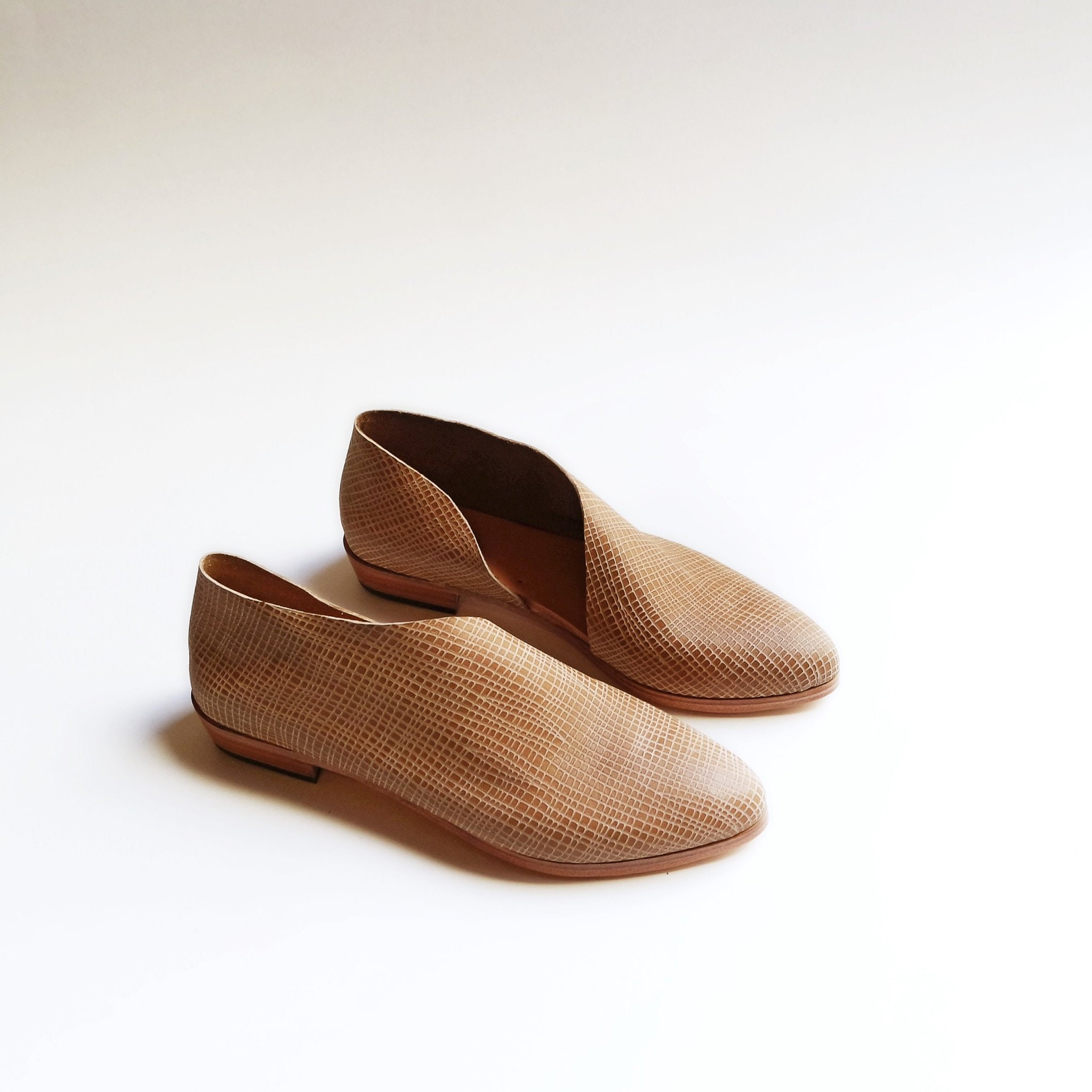 The Sandy Linen Handmade Chaussure S Minimal And Order Soft