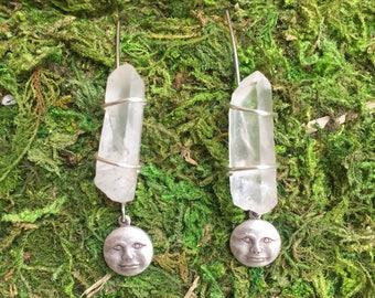 Moon Beam Earrings
