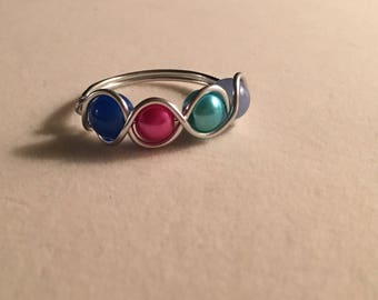 Four-stone  ring