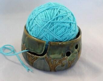Forest Yarn Bowl