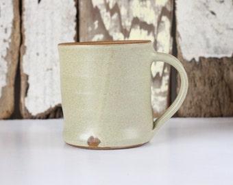 Coffee Mug / Tea Cup / Hot Chocolate Mug / 12 Ounce Mug / Off White Mug