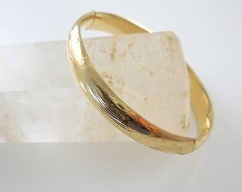 Bangle Bracelet 14k Yellow Gold Bangle Bracelet