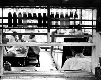 De la cuisine, Rangoon, Birmanie.