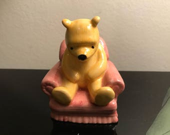 Royal Doulton Winnie The Pooh In The Armchair Disney