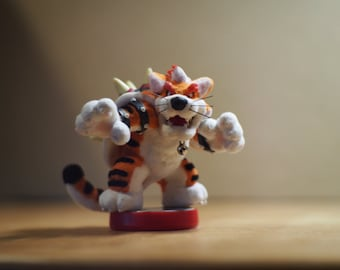 Custom Meowser Amiibo