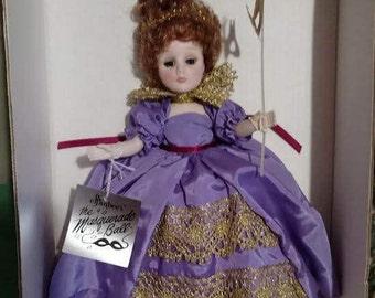 """Vintage Effanbee Masquerade Ball """"Judith"""" No. 1142 NIB"""