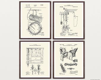 Theater Art - Theater Patent - Theater Decor - Musical Theater - Broadway - Broadway Poster - Broadway Musical - Playbill - Show tune - Act
