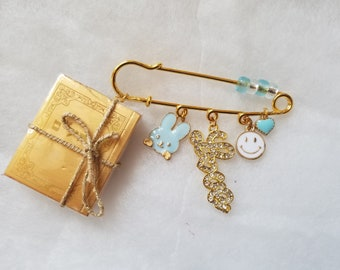 THILIM  BOOK  safety pin