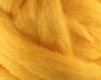 Wool Roving - 1oz - Gold