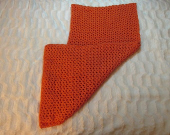 Coral lacy Shawl