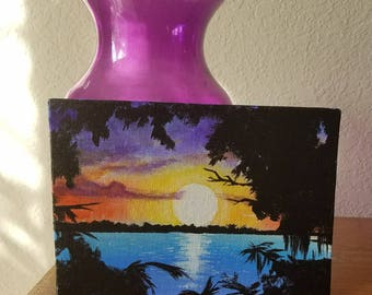 Sunset Painting - 5x7