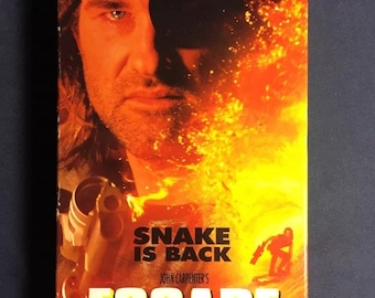 Escape From L.A VHS Movie 1996 1st Release Post Apocalyptic Future