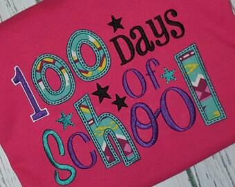 100 Days of School Shirt Teacher Shirt Student Shirt Teacher Clothes School One Hundred Days of School