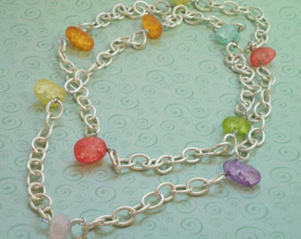 "Yummy ""Candy"" Stone Necklace"