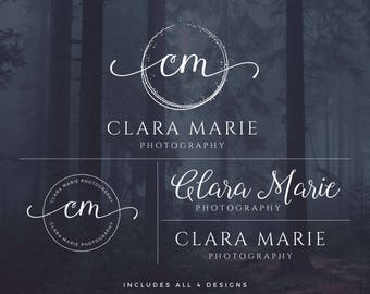 Logo Design, Photography Logo and Watermark,  Logo Set, Watermark, Affordable Logo, Brand Set, Photography Logo, Affordable Branding