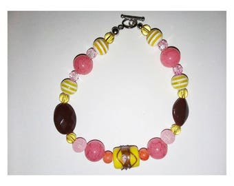 Forever Young Toggle Beaded Bracelet
