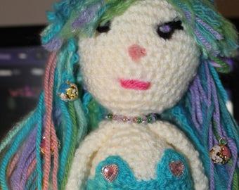 Mermaid, hand made