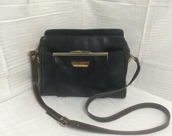 Capezzio, faux leather purse,bag, vegan leather, shoulder bag, purses,bags, kiss lock coin purse