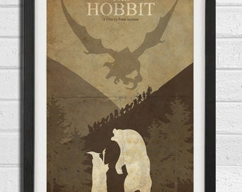 The Hobbit - The Lord of the Rings Poster Print